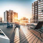 The rooftop deck was completely rejuvenated and renovated. This new <br> design provided a clean & modern aesthetic while maintaining safety <br> without compromising the amzing views.