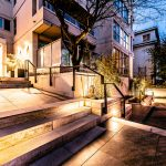 The completely redesigned and renovated entry way provides a well-lit path <br> and easy access to Stanley Park, English Bay, Rogers Arena, Vancouver Public <br>  Library, Edgewater Casino, Vancouver Art Gallery, and many other great attractions!